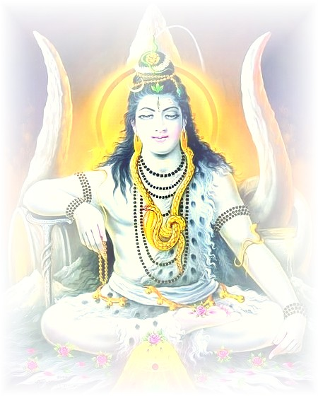 Lord Siva With Trident